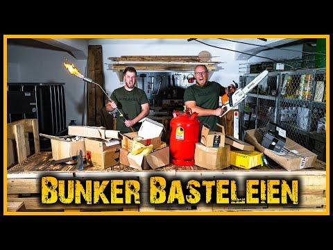 Der Prepper Bunker [S01/E20] - Flammenwerfer und viele Pakete - Survival Krisenvorsorge