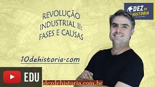 Revolução Industrial II: As fases da revolução e as causas gerais.
