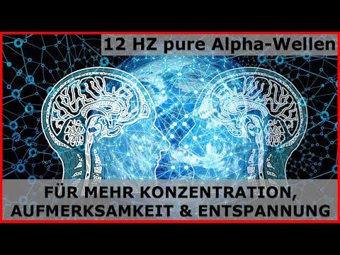 Durch 12 Hz Alpha-Wellen die Aufmerksamkeit & das Konzentrationsvermögen steigern
