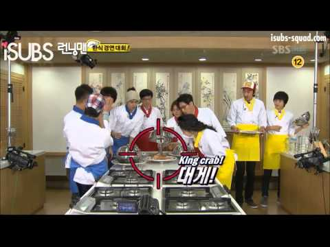 Song Ji Hyo hates crabs (Ep. 19)