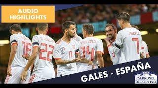Gales vs España, 1-4: los goles del partido
