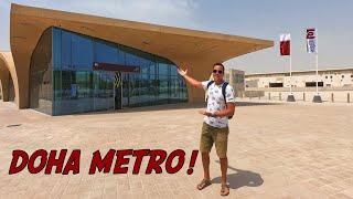Doha Metro Qatar Rail Opening