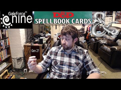 D&D 5e Spellbook Card Update from Gale Force Nine | Nerd