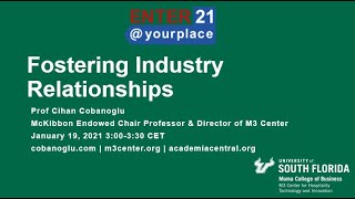 Fostering Industry Relationships