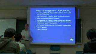 Environmental Sociology 5 (2/6): Ecological Modernization, Continued: Ulrich Beck