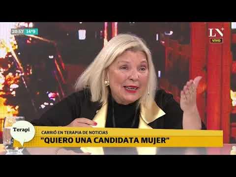 Carrió se despega de Macri