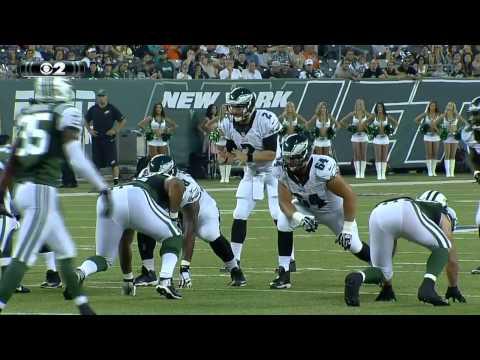 Matt Barkley converts a 4th-and-8 to Trey Burton - 2015 NFL Preseason Week 4