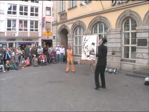 Art of Juggling - street show version, September 2009
