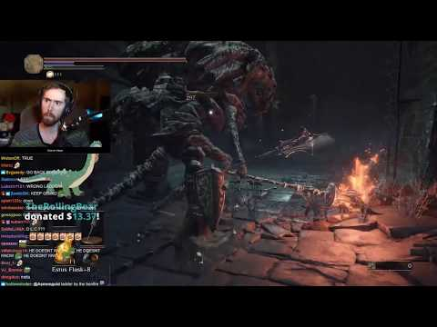 Asmongold's Fifth Stream of Dark Souls 3 | FULL VOD
