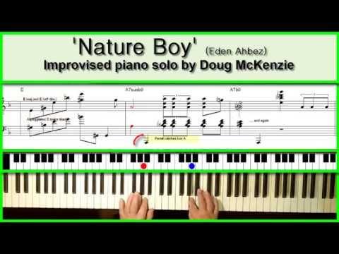 'Nature Boy' - jazz piano tutorial