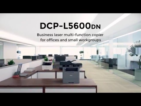 Business Laser Multi-Function Copier With Duplex Printing And Networking | Brother DCP-L5600DN