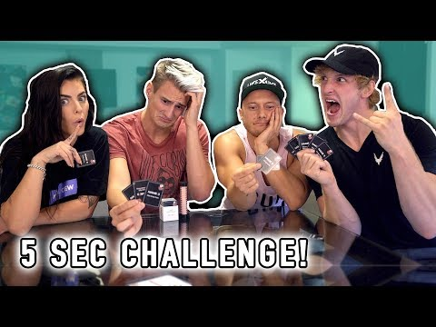 Thumbnail: CHALLENGE! 5 SECOND RULE GAME! *Uncensored*