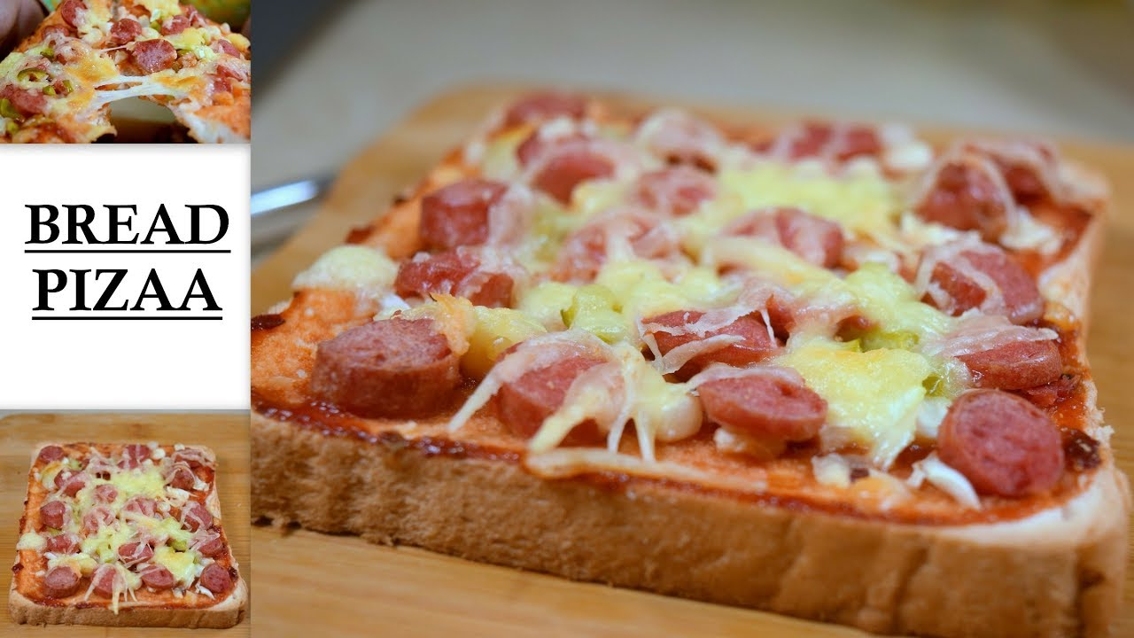 Bread Pizza Recipe How To Make Pizza With Bread Slices Youtube