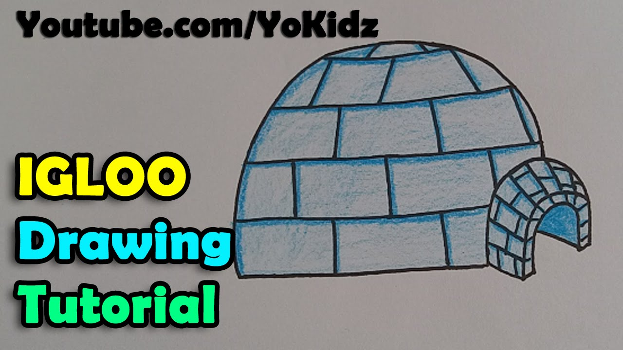 How to Draw an Igloo How to Draw an Igloo new images