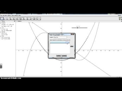 GeoGebra Derivative