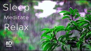 8 डी बारिश: गहरी नींद के लिए बारिश और थंडर ध्वनि • आराम की ध्वनि 10 घंटे • 8 डी थंडरस्टॉर्म screenshot 4