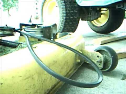 John Deere L130 Mower Deck Belt Sevenstonesinc