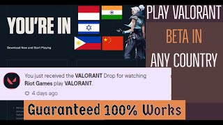 how to get val๐rant key | how to get valorant drop | Fastest way to get valorant key
