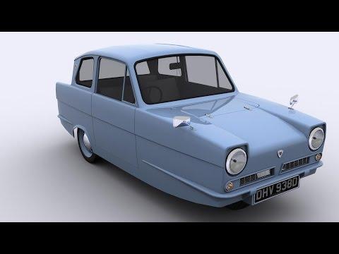Reliant Regal Sedan