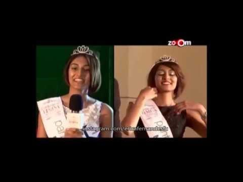 Erica Fernandes -- Femina Miss India Fresh Face 2012