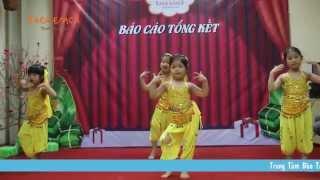 Múa Ấn Độ - Lớp Flamenco Siêu Nhí AR2