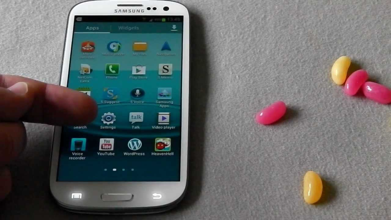 How to update the Samsung Galaxy s3 to the latest firmware