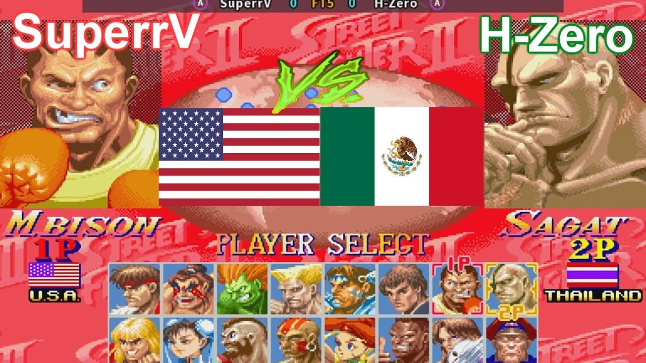 Super Street Fighter II X: Grand Master Challenge - SuperrV vs H-Zero FT5