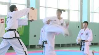 Выступление команды из Северной Кореи в Калуге 21 мая 2015 клип