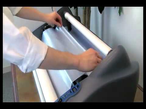 Swingline High Capacity Electric Desk Stapler Demo - SWI