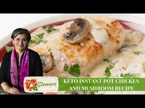 Instant Pot Mushroom Chicken Recipe | Keto Instant Pot Recipe