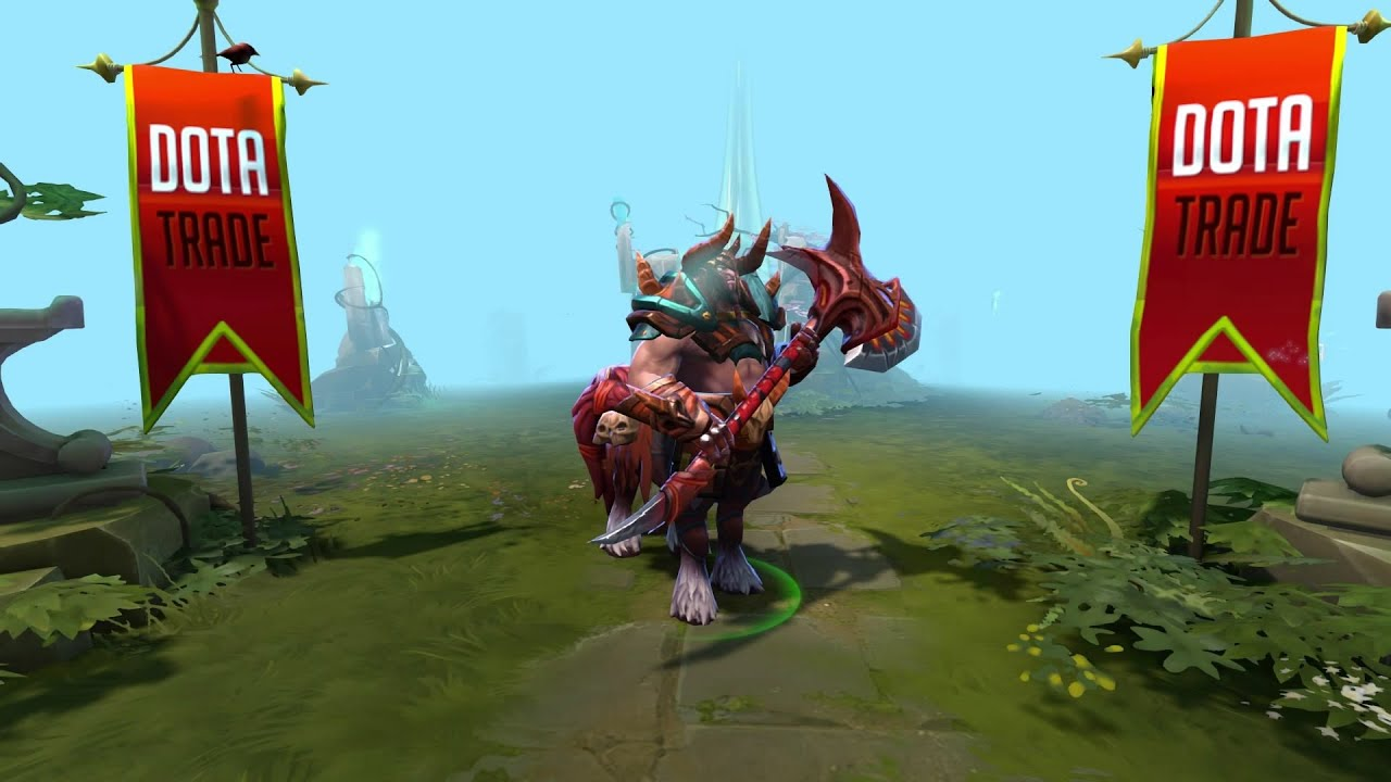 Warlord Of Hell Centaur Warrunner Set Preview Dota 2 YouTube