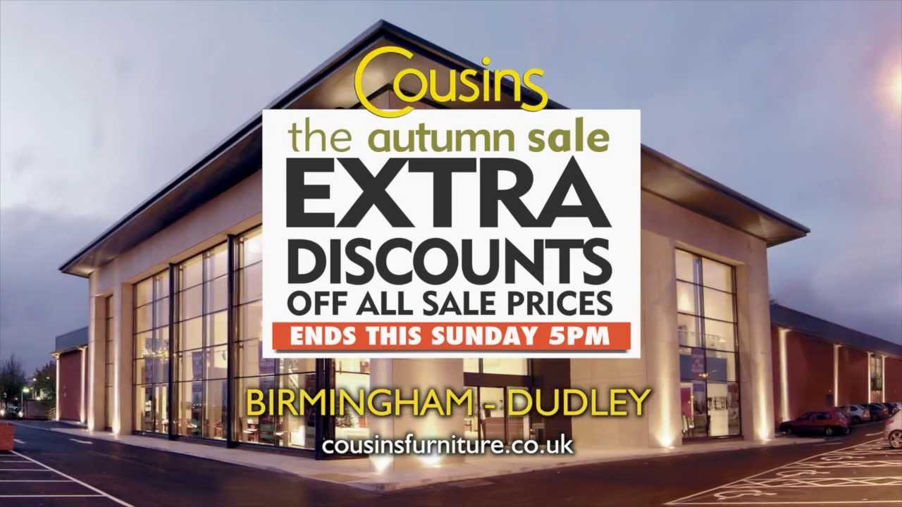 Cousins furniture uk autumn sale youtube for Furniture sale sites