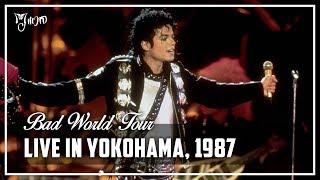LIVE IN YOKOHAMA, 1987 - Bad World Tour (Full Concert) [60FPS] | Michael Jackson