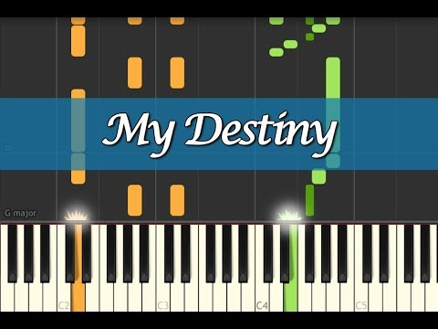 LYN (린) - My Destiny (My Love From The Star 별에서 온 그대 OST) Piano Tutorial