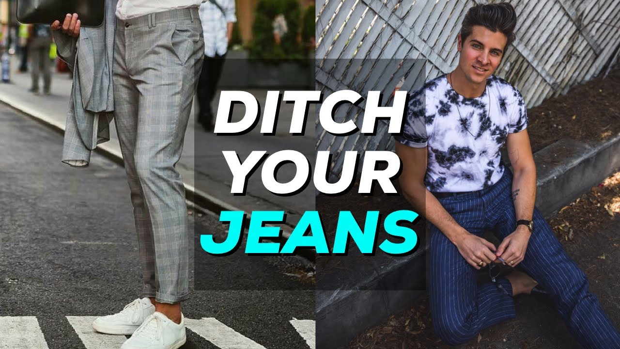 [VIDEO] - HOW TO STYLE TROUSERS | Plaid, Pinstripe, & More | Parker York Smith 4