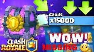 15k Chest Opening - Clash Royale