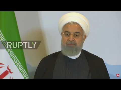 Switzerland: Iran will stick to nuclear deal if Tehran's 'interests are respected' - Rouhani
