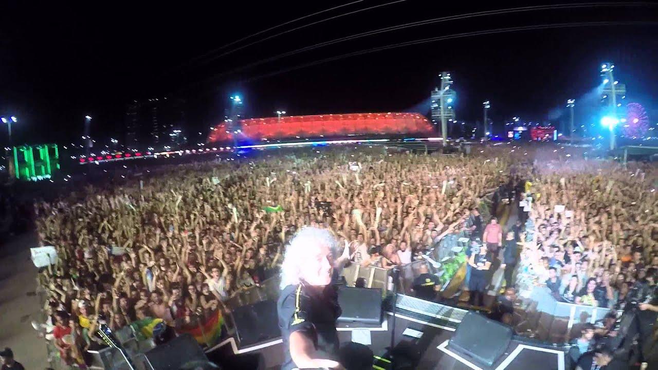 Selfie Stick Video — Rock in Rio [September 18, 2015] — Brian May