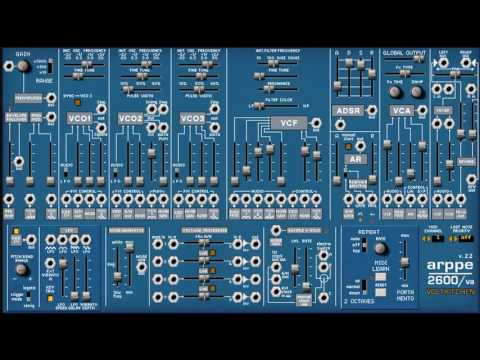 Free ARP 2600 Synthesizer VST Emulation