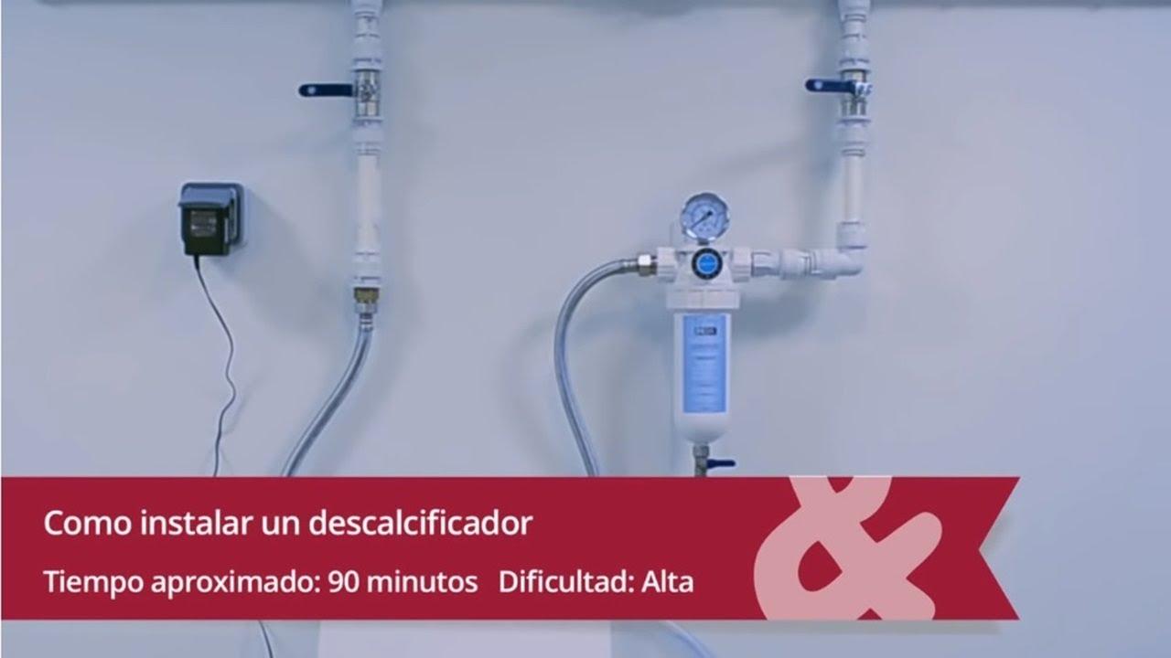 C mo instalar un descalcificador en casa youtube - Descalcificador de agua para casa ...