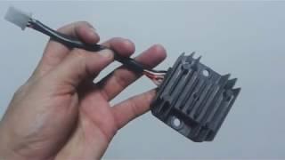 Retificador Regulador de voltagem Garinni GR150 ST R$80,00 Guarani Auto Peças
