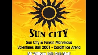 Old Skool Uk Garage mix SUN CITY Cardiff live - Mr Willson b2b Dub-matt - Mc