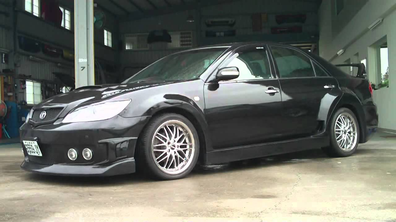 Widebody Toyota Camry With Airrex Digital Air Suspension
