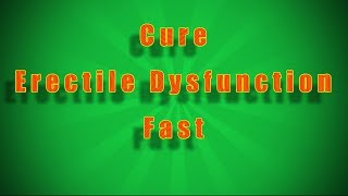 Has ED Meds Failed to Cure Your Erectile Dysfunction
