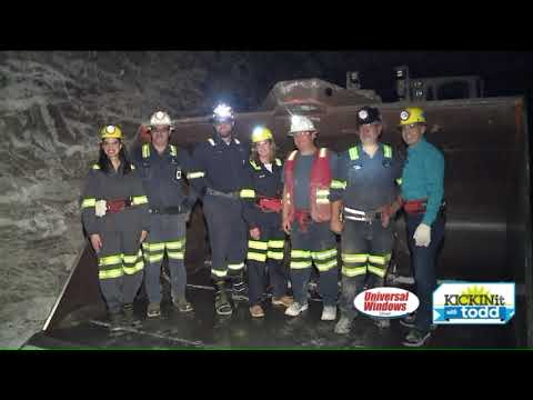 How Morton Salt Mines De-icing Salt From Under Lake Erie