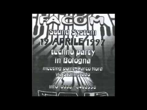 Spiral Tribe - Crystal Distortion (a.k.a HK46) & Kaos - Live at Tquinox Bologna 1997 (Side A & B)