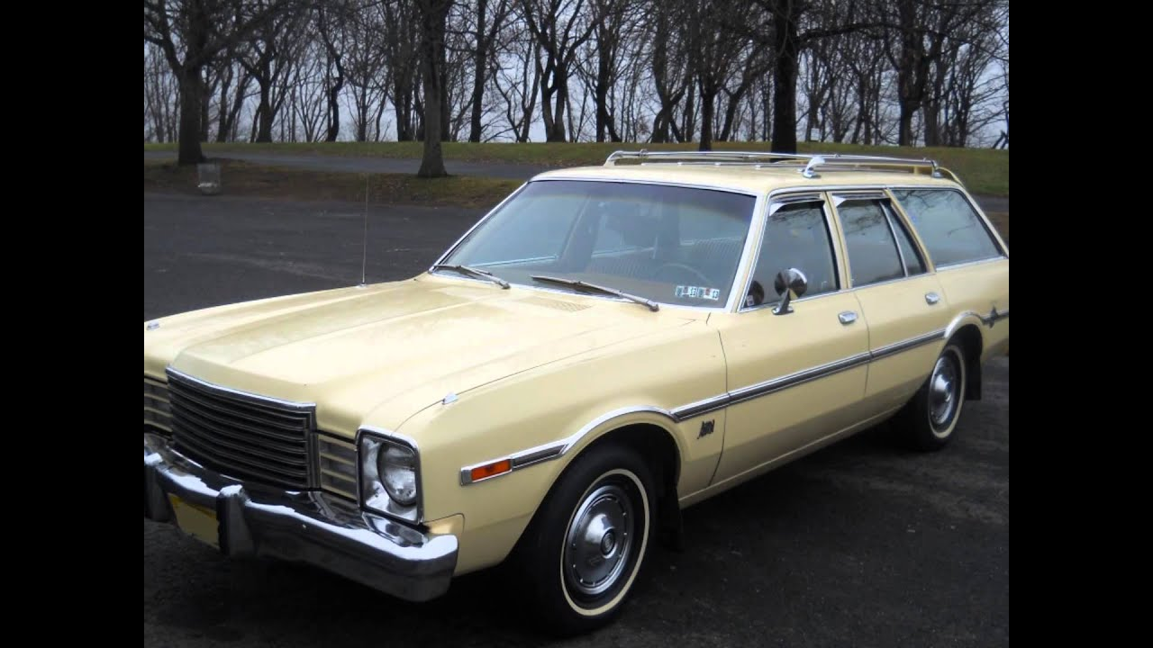 1978 Dodge Aspen Wagon - YouTube
