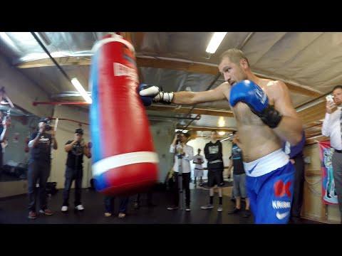 Sergey Kovalev POV heavy bag workout- Kovalev vs Mohammedi full video