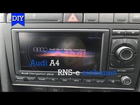 Audi A4 RNS-E nachrüsten / Teil2 Umbau auf RNS-E