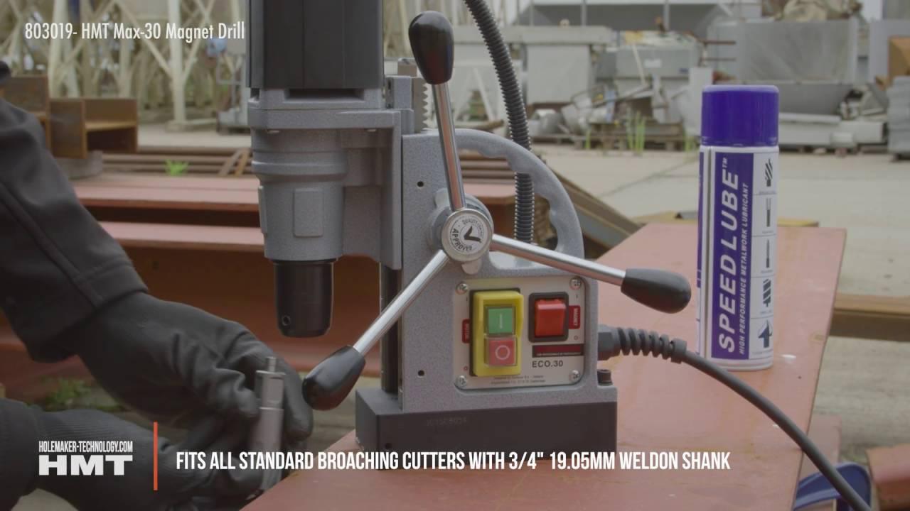 HMT 108030-0160 CarbideMax 40 TCT magnet broche Cutter 16 mm